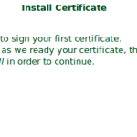 install-certificate