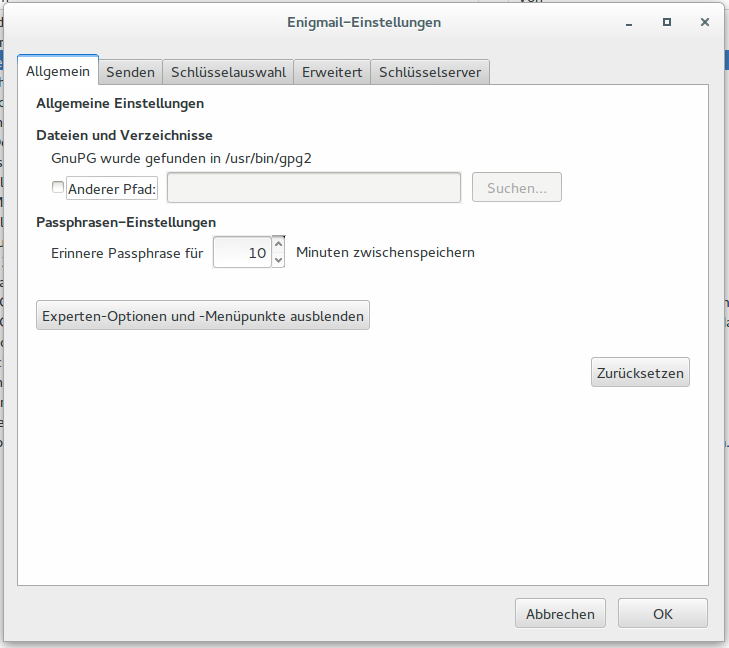 enigmail-settings