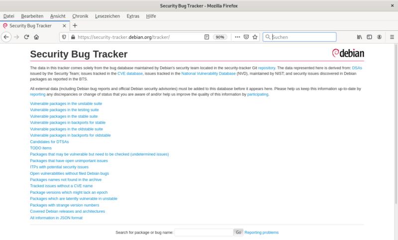 screenshot-debian-security-bug-tracker